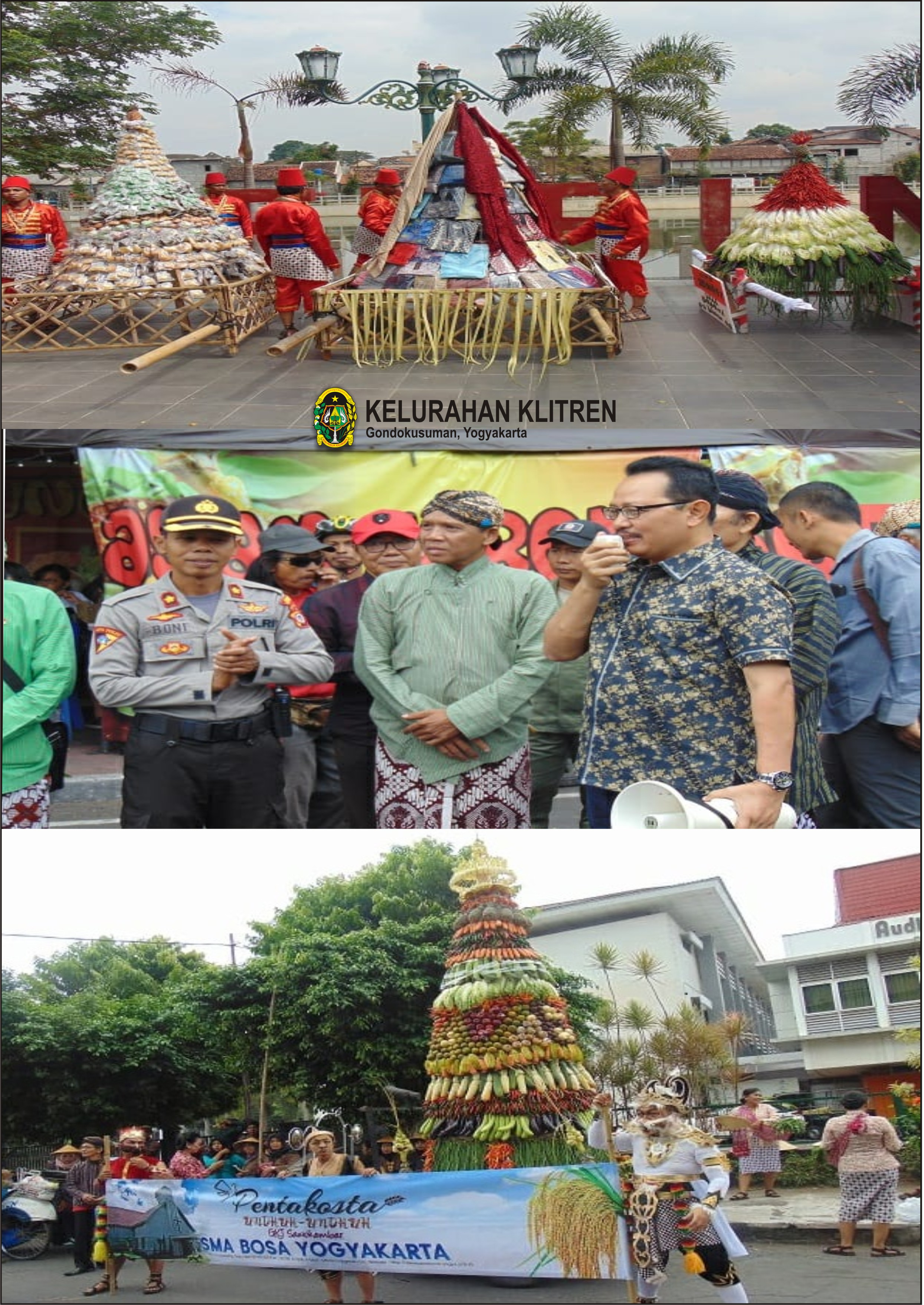 Gelar Budaya Unduh-Unduh Kelurahan Klitren Tahun 2019