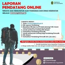 Laporan Pendatang Online
