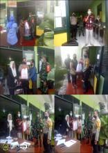 Distribusi Paket Sembako Dari Presiden Indonesia di Kelurahan Klitren